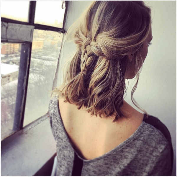 Awesome 73 stunning braids for short hair that you will love Hairstyles For Short Straight Hair Braids Ideas