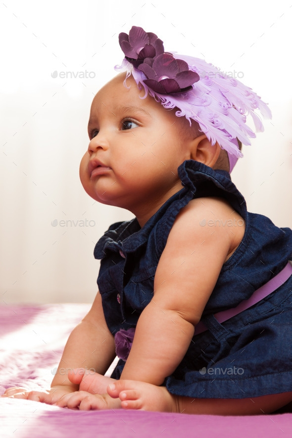 Awesome adorable little african american ba girl looking black peopl African American Babies Girl Pics Ideas
