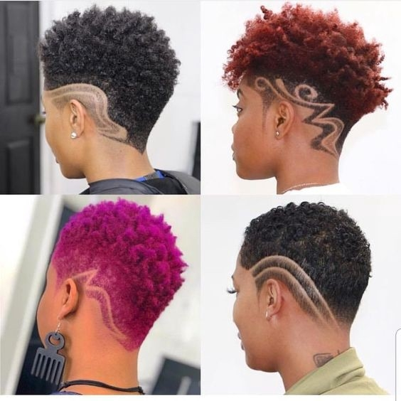 Awesome african american natural hairstyles for short hair Short African American Natural Hairstyles Designs