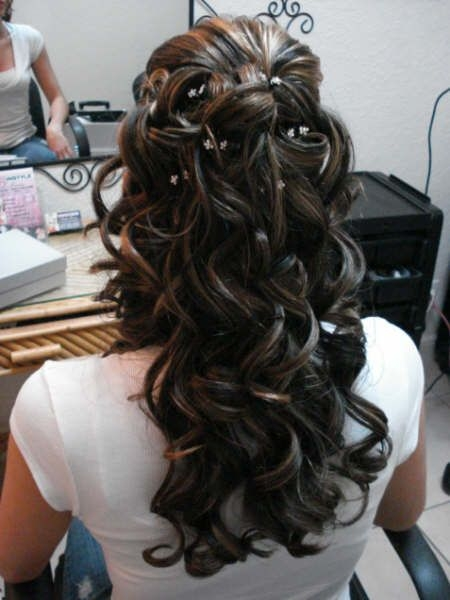 Awesome african american wedding hairstyles half up and half down African American Wedding Hairstyles Half Up And Half Down Designs