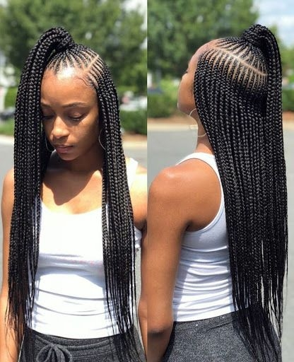 Awesome african fashion trends nigerian fashion braids micro Latest Trending Braids Hairstyles Choices