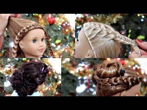 Awesome american girl doll holiday hairstyles 2017 American Girl Dolls Hair Styles Designs