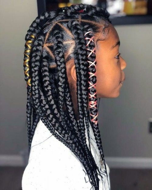 Awesome best images african american girls hairstyles new natural African American Braid Styles For Teenagers