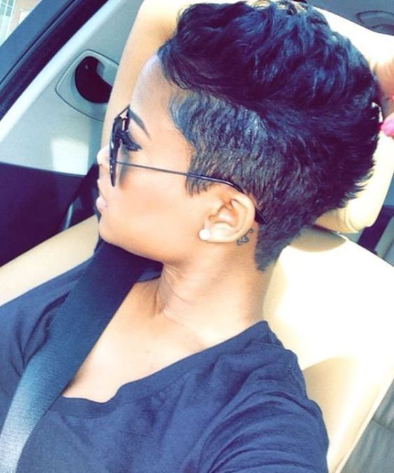 Awesome black hairstyles for short hair short hair styles hair Pinterest African American Short Hairstyles Designs