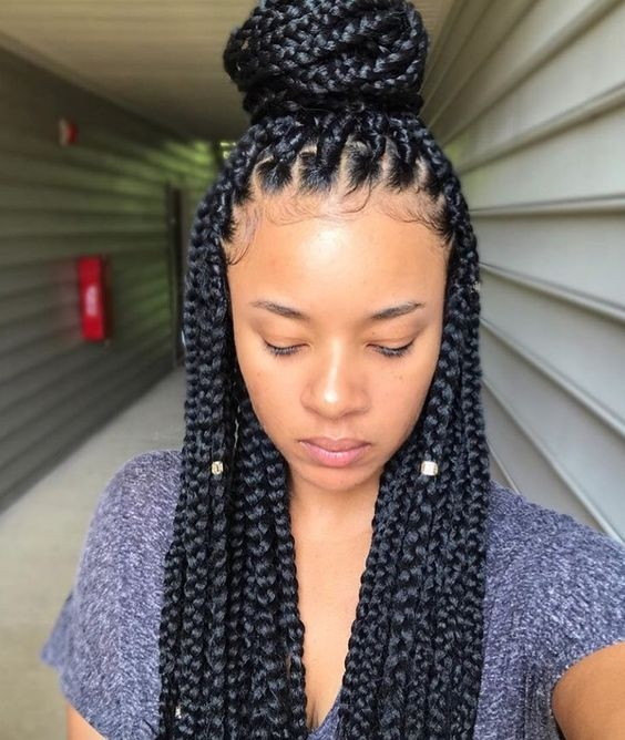 Awesome braided hairstyles to try as protective styling for natural Different Styles Of Braids For Black Hair Inspirations