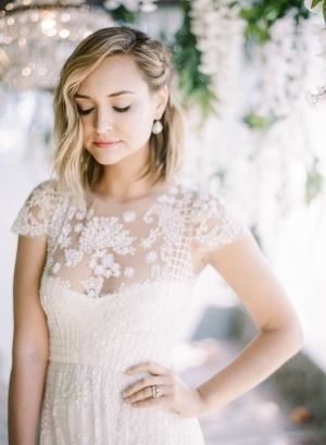 Awesome bridesmaids hairstyle short hair wedding inspiration style Short Hair Wedding Styles Bridesmaid Ideas