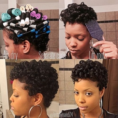 Awesome brittanymarie524 coco rose creamy shampoo leave in Roller Set Styles For Short Hair Ideas