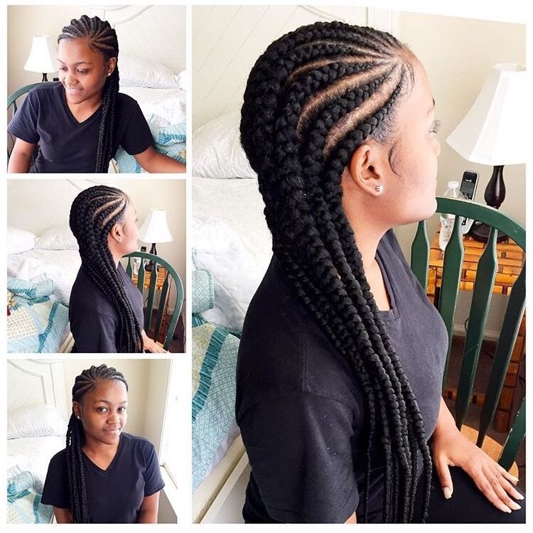 Awesome cornrows for black women african american braided New Hairstyles Braids Straight Back For Black Gals Ideas