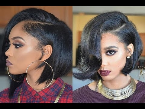 Awesome cute short bob hairstyles and haircuts for black women ideas Short Bob Haircuts For Black Women Choices