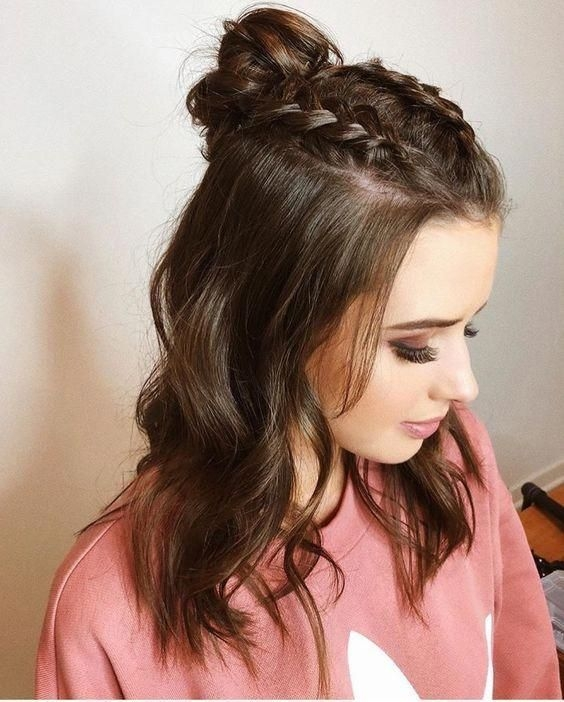 Awesome easy braided hairstyles for medium length hair Easy Braided Hairstyles For Medium Long Hair Inspirations