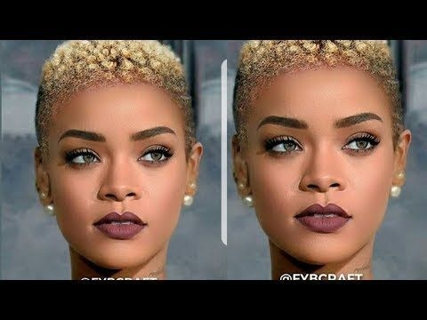 Awesome fantastic natural shortcut hairstyles for black women 2018 Shortcut Hair Styles Inspirations