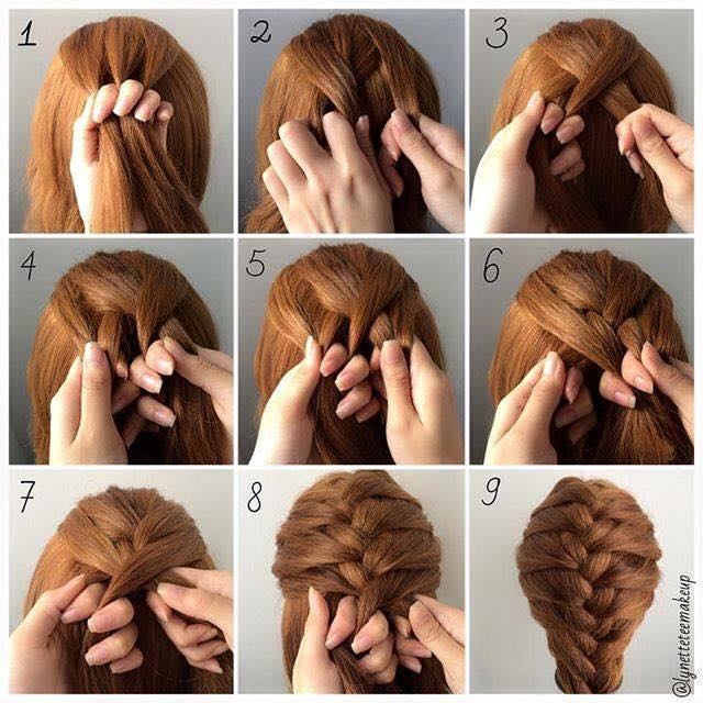 Awesome fashionable braid hairstyle for shoulder length hair Fashionable Braid Hairstyle For Shoulder Length Hair Choices