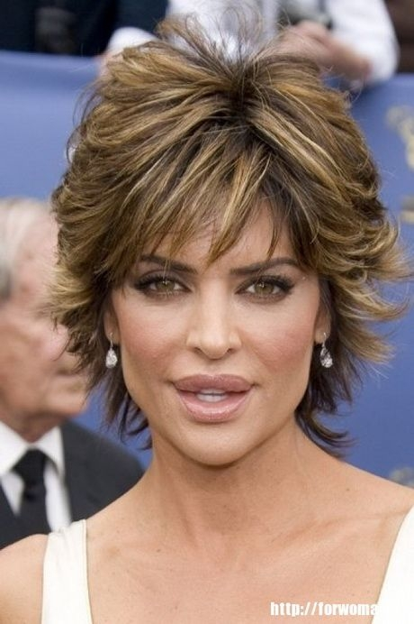 Awesome feathered hair style for women over 50 short hairstyle Short Feathered Hair Styles Choices