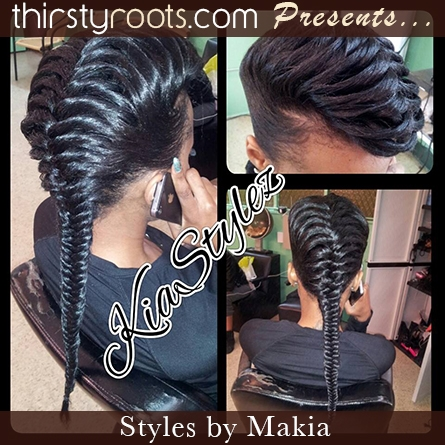 Awesome fishtail braid hairstyles for black hair Amazing Fishtail Braids Ever For African Hair Inspirations