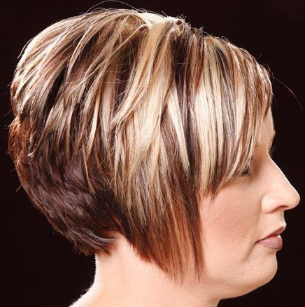Awesome formal short hairstyle 107 baleyage blonde highlights Short Spiky Red Hair With Blonde Highlights Inspirations