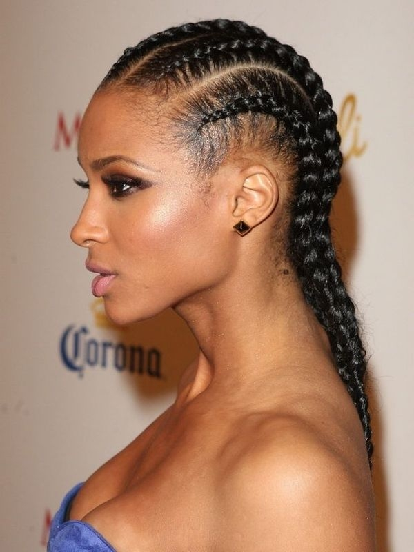 Awesome french braids how to french braid your hair French Braid African American Hairstyles Ideas