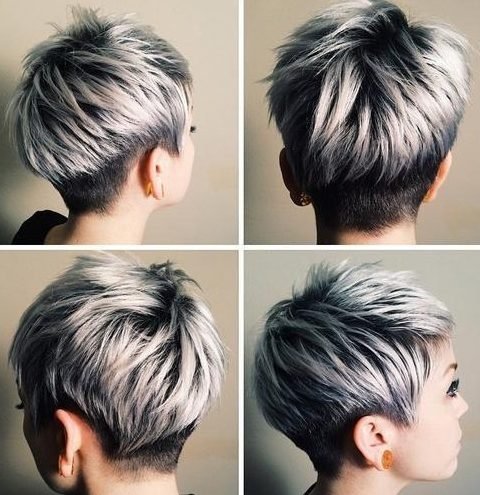 Awesome hair color ideas for pixie haircuts in 2020 for any taste Short Haircut And Color Ideas Ideas