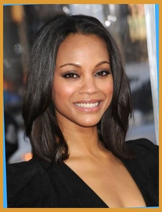 Awesome hairstyles for medium length thin african american hair Medium Length Hairstyles For African American Women Ideas