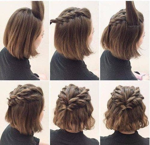 Awesome hairstyles for short hair twisted hair styles easy Cool Quick Hairstyles For Short Hair Inspirations