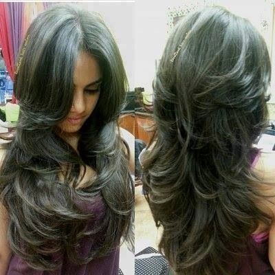 Awesome i know this says for long hair but i am certain you could do Short Long Layered Haircuts Choices