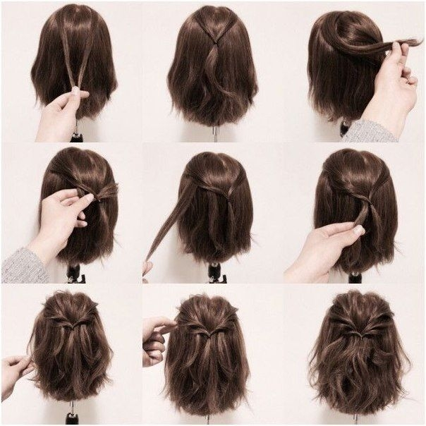 Awesome ideas for hairstyles hair styles short hair styles Easy Style For Short Hair Ideas