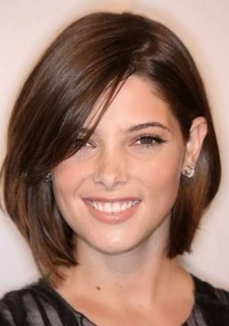 Awesome image result for mid length hair for 40 year olds large Short Hairstyles For Round Faces And High Foreheads Ideas