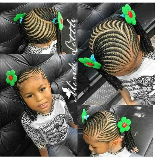 Awesome kids braided hairstyles little girl braid styles little Kids Hair Braids Style Choices