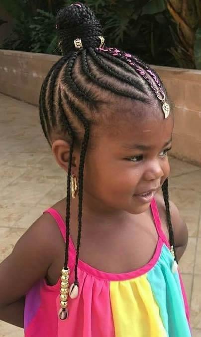 Awesome kids braids kids cornrows kids individuals or box braids Children Hair Braided Styles Inspirations