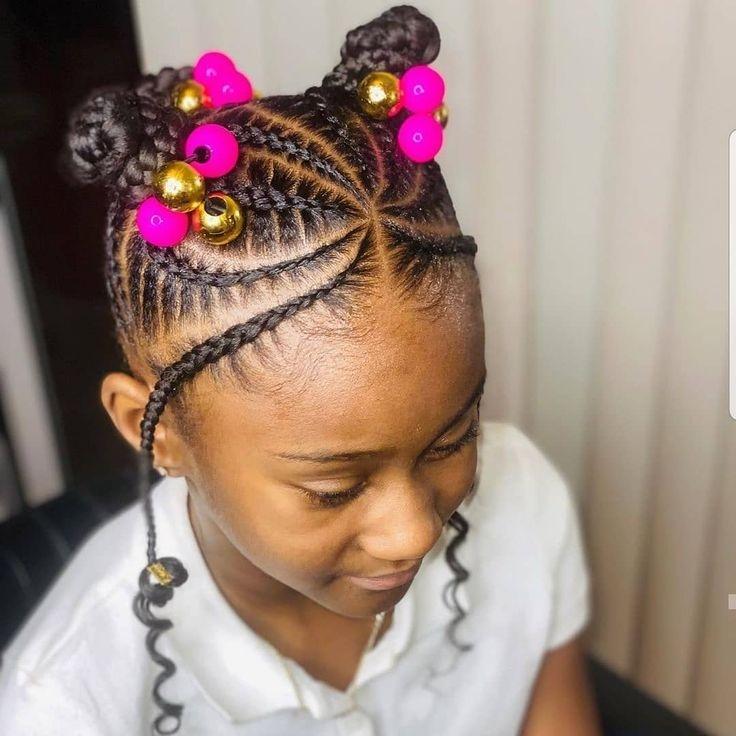 Awesome kids hairstyles black braids in 2020 hair styles kids Braids Hairstyles For Black Kids Choices