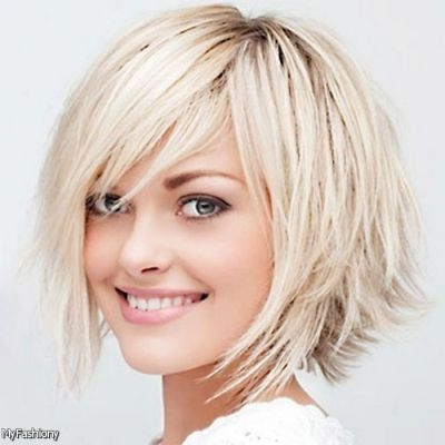 Awesome layered short hairstyles with side swept bangs google Long Hair With Short Layers And Side Fringe Ideas