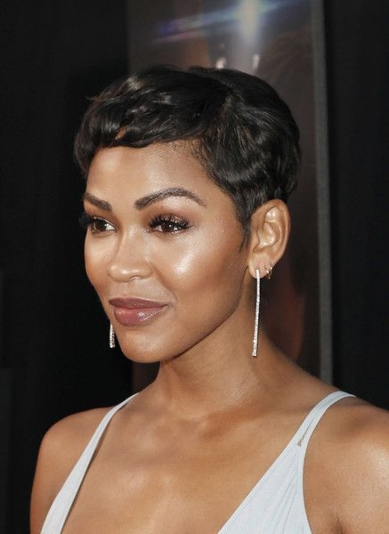 Awesome more pics of meagan good pixie meagan good short hair Megan Good Short Hair Styles Ideas