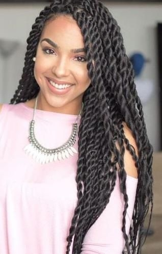 Awesome most amazing twist hairstyles for african american women 35 African American Twist Hairstyle Ideas