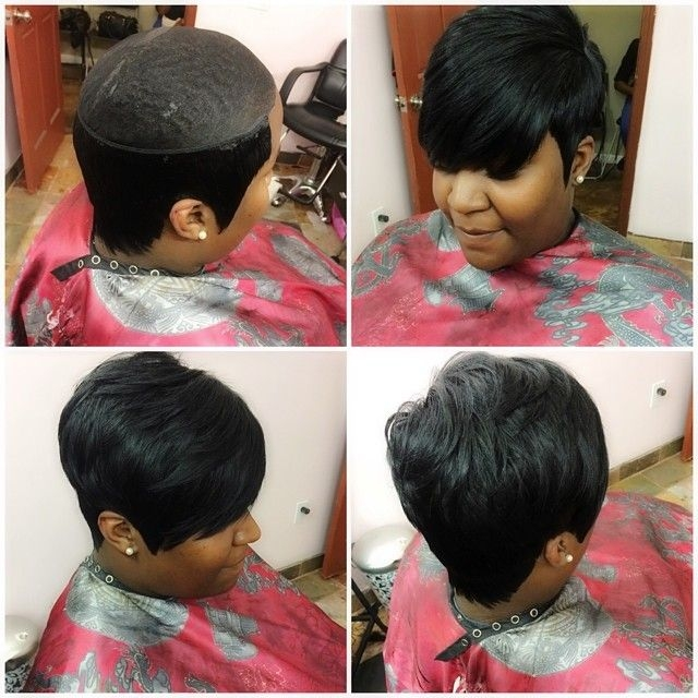 Awesome no hair out whatweave booknow appointmentsavailable Short Weave Hairstyles 27 Pieces Inspirations