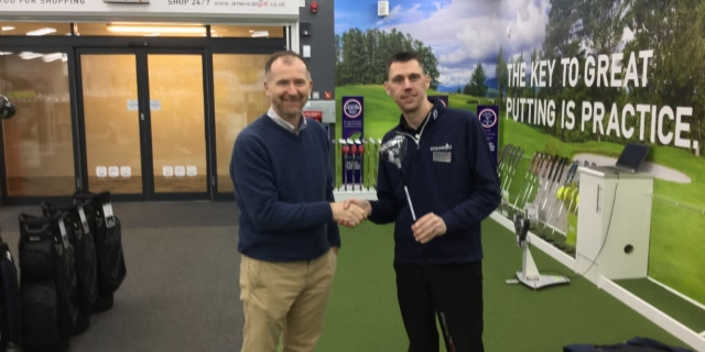 Awesome on course foundations benefits from american golf raffle American Golf Edinburgh Braid Hills Ideas