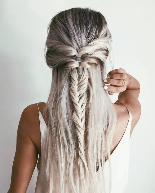 Awesome one day i woke up and felt this overwhelming urge to make a Long Hair Braid Styles Ideas