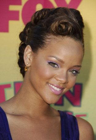 Awesome pin my info on wedding hair short hair styles african Prom Hairstyles For Short Hair African American Ideas