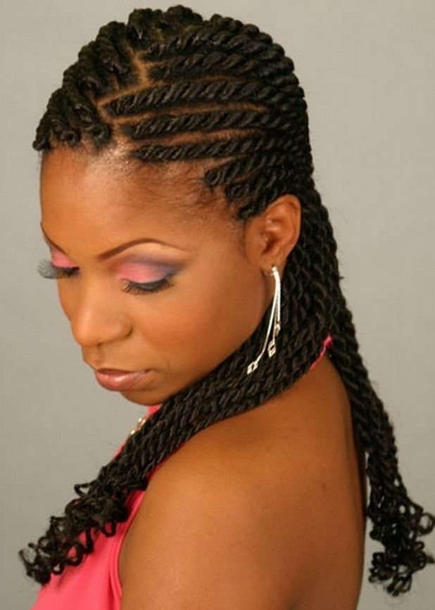 Awesome pin on beauty stuff Hair Braiding Styles For Black Women Choices