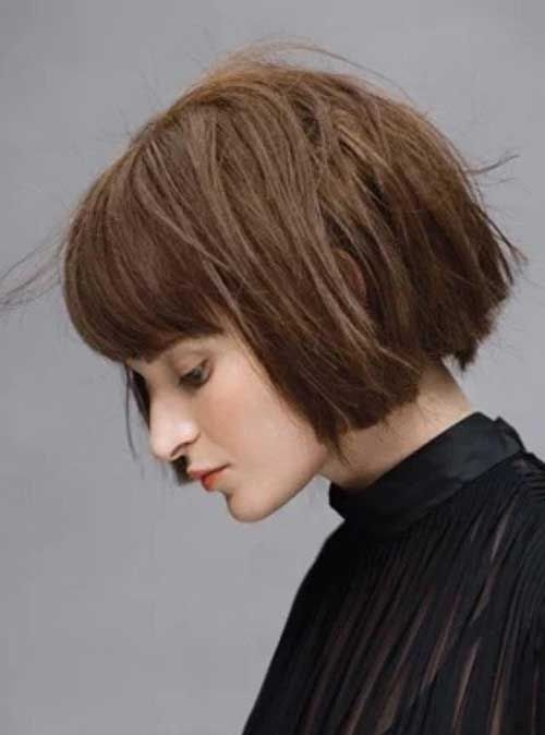 Awesome pin on good hair Short Blunt Haircuts With Bangs Choices