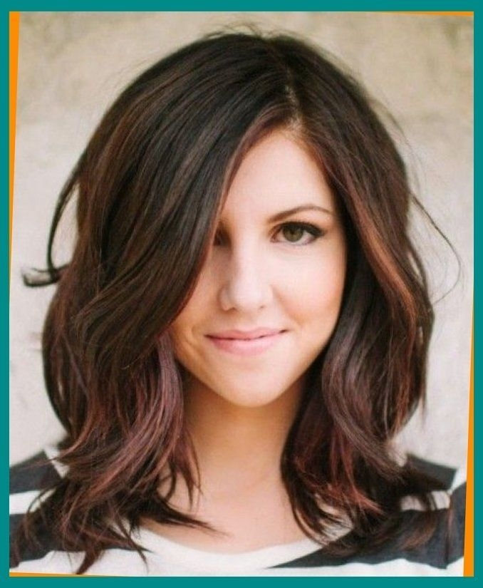 Awesome pin on hairstyles for round faces Medium Short Hairstyles For Round Faces And Thick Hair Inspirations