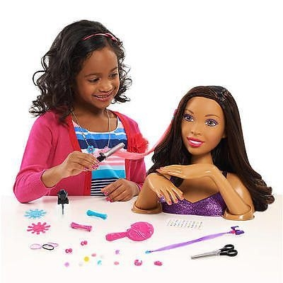 Awesome pin on kids African American Hair Styling Doll Head Designs