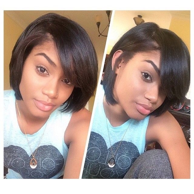Awesome pin on natural hair styles Hairstyles For Relaxed African American Hair Ideas