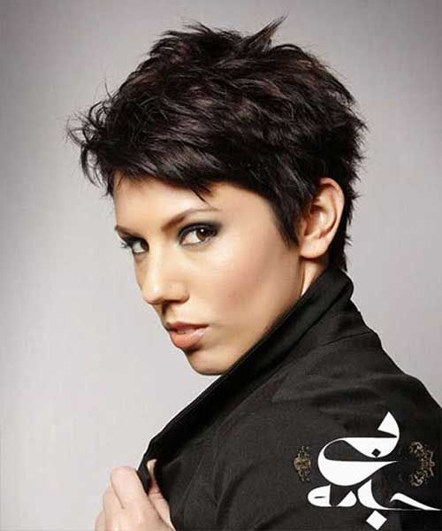 Awesome pin on schoonheid Short Pixie Hairstyles For Thick Hair Inspirations