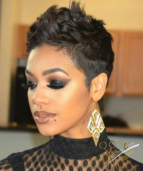 Awesome pin on short hair Black Short Haircut Styles Inspirations