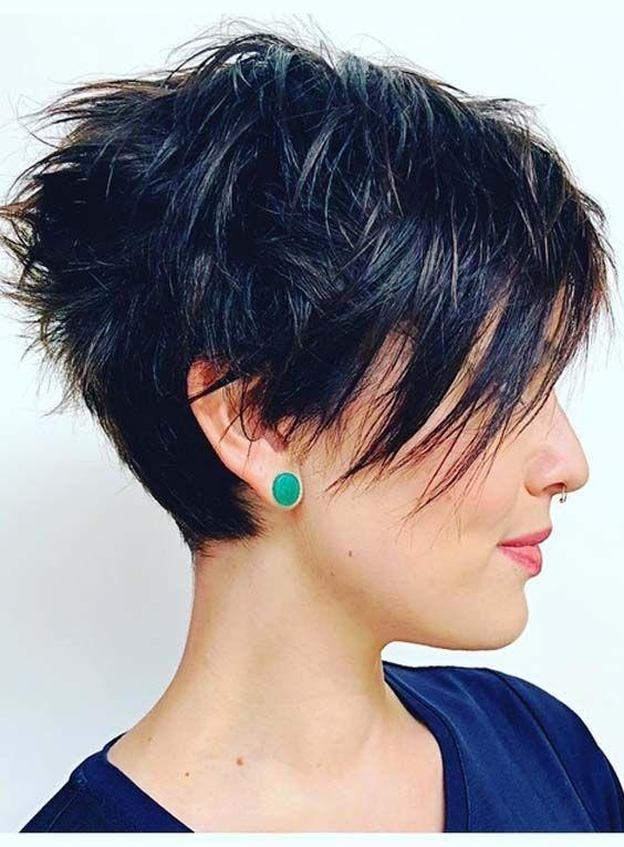 Awesome pin on short haircuts Short Razor Haircuts Ideas