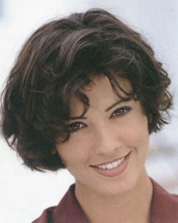 Awesome pin on style Short Hairstyles For Thick Curly Hair Round Face Ideas