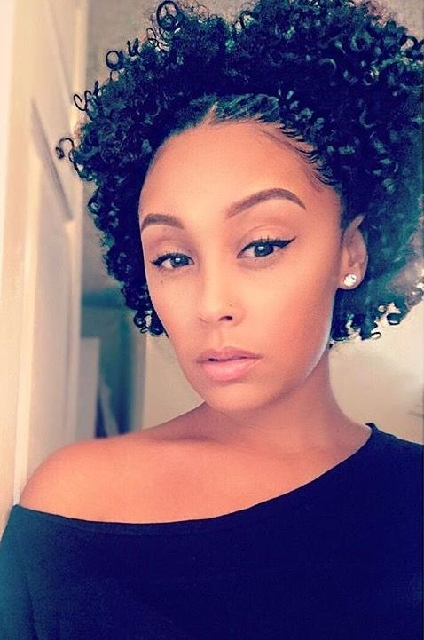 Awesome pinterest namelanin curly hair styles short natural Short Natural Hair Updo Pinterest Ideas