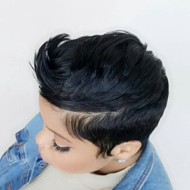 Awesome pinterest rebelwithstyle short hair styles hair Pinterest African American Short Hairstyles Designs