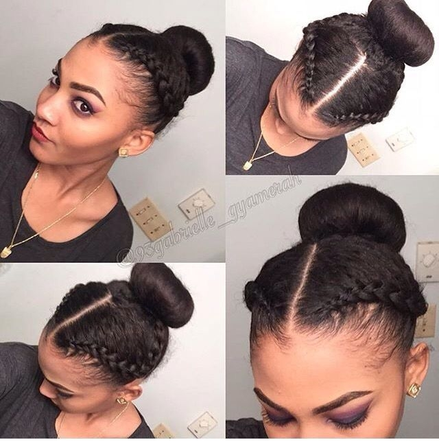 Awesome protective hairstyles for short relaxed hair 101 natural Protective Styles For Short Relaxed Hair Pinterest Choices