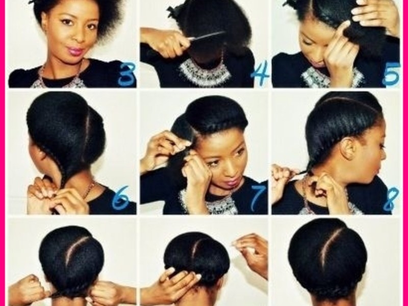 Awesome quick hairstyles for short natural african american hair Quick Hairstyles For African American Hair Ideas