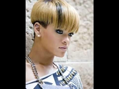 Awesome rihanna short hair styles youtube Rhianna Short Hair Styles Inspirations